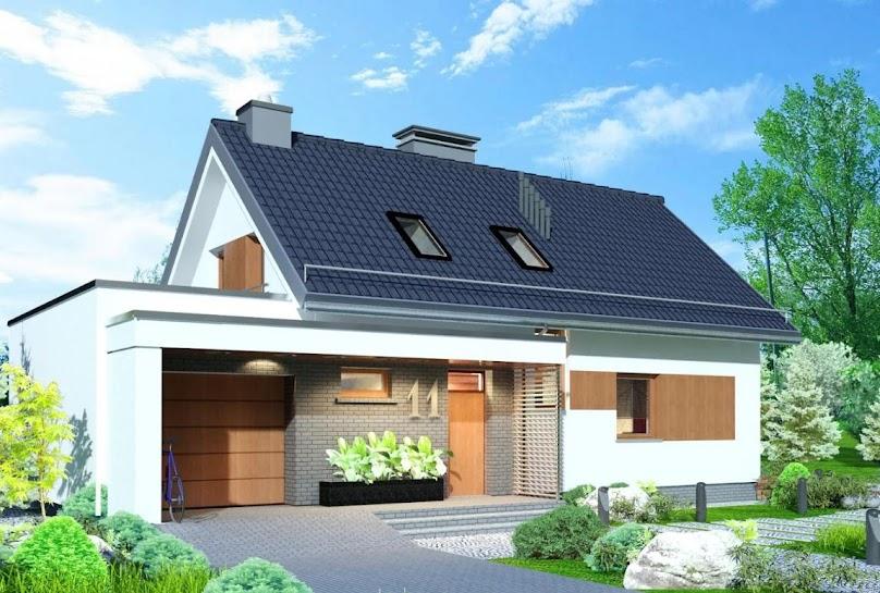 Projekt domu Domidea 58 mG