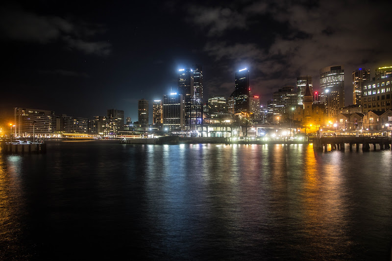 The city of Sydney at night di norma.luna