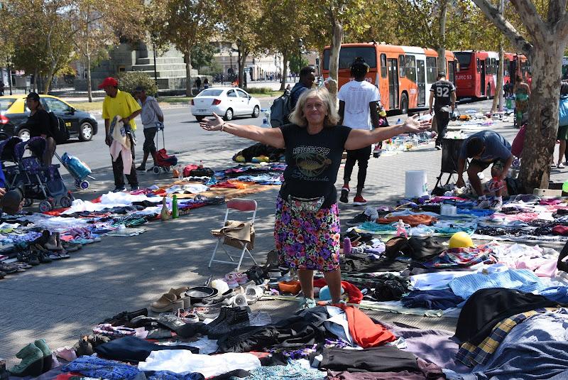 mercato a Santiago del Cile di Lucionap