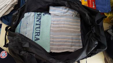 Photo: 1. zwei Strandtücher ganz unten