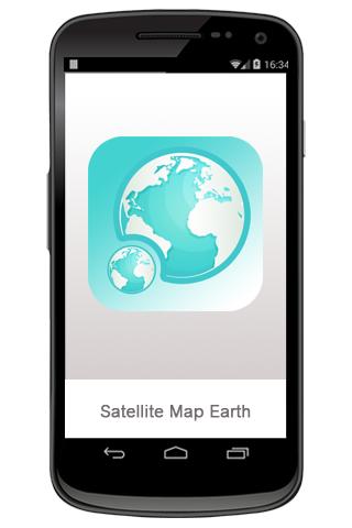 衛星地図 E