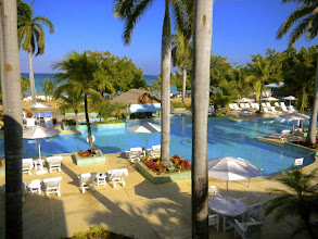 Photo: Besides the beauty, food, and wonderful people of Jamaica, this pool is a big draw!