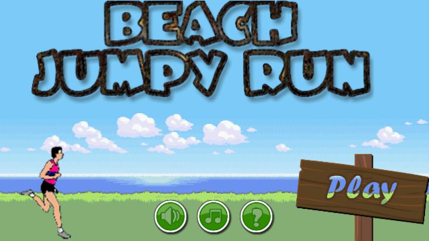 android Beach Jumpy Run Screenshot 0