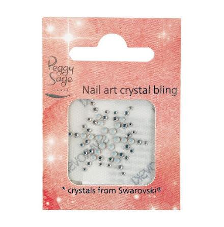 Nageldekoration crystal bling