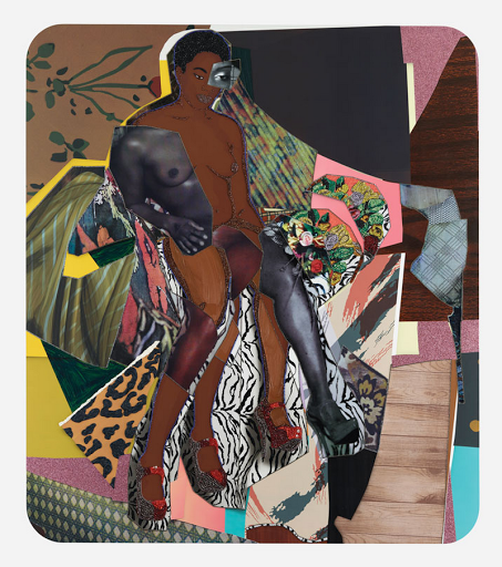 Mickalene Thomas artwork