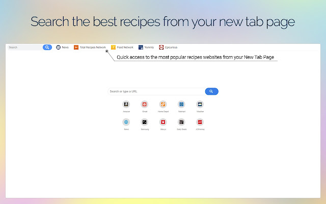 Get Online Recipes