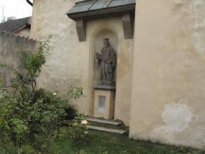 Photo: socha sv. Ludmily u kostela sv.Kateřiny