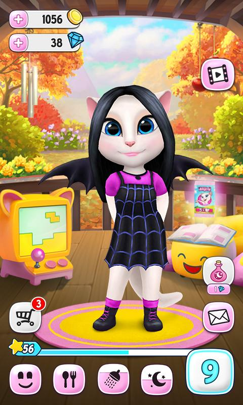 My Talking Angela Mod Apk (Unlimited Coins) 3.9.2.170 Latest Version 2