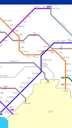 东莞地铁路线图