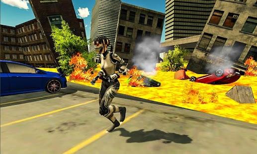 Ninja Girl City Rescue Mission : Lava Floor - náhled
