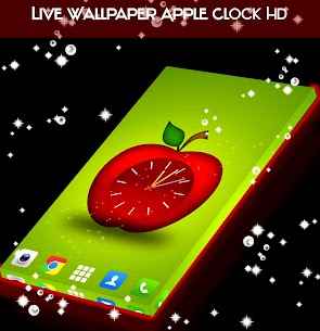 Live Wallpaper Apple Clock HD App Latest Version  Download For Android 1