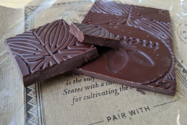 70% manoa chocolate hawaii bar