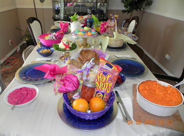 Main Table for Easter