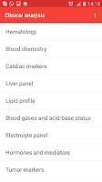 Screenshot of 💉 Cito! Lab Values FREE