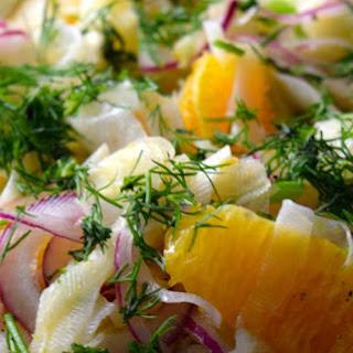Refreshing Fennel Citrus Salad