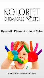 Acid Dyes Kolorjet Chemical Ekran Görüntüsü