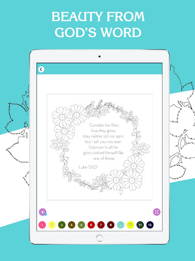 Bible Coloring - Bible Color by Number, Bible Game 20.0 screenshots 12