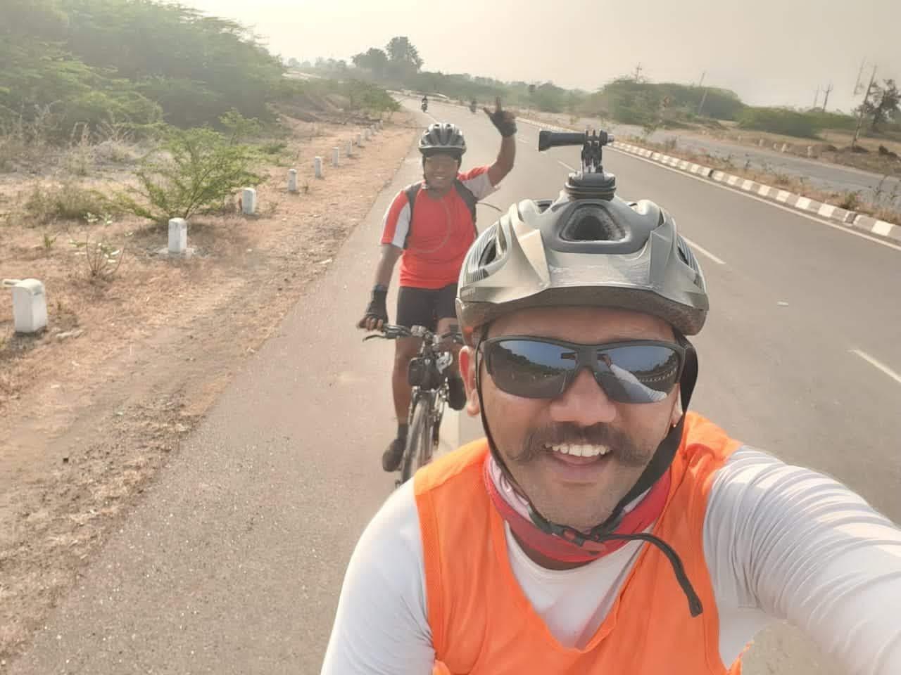Cycling starts!