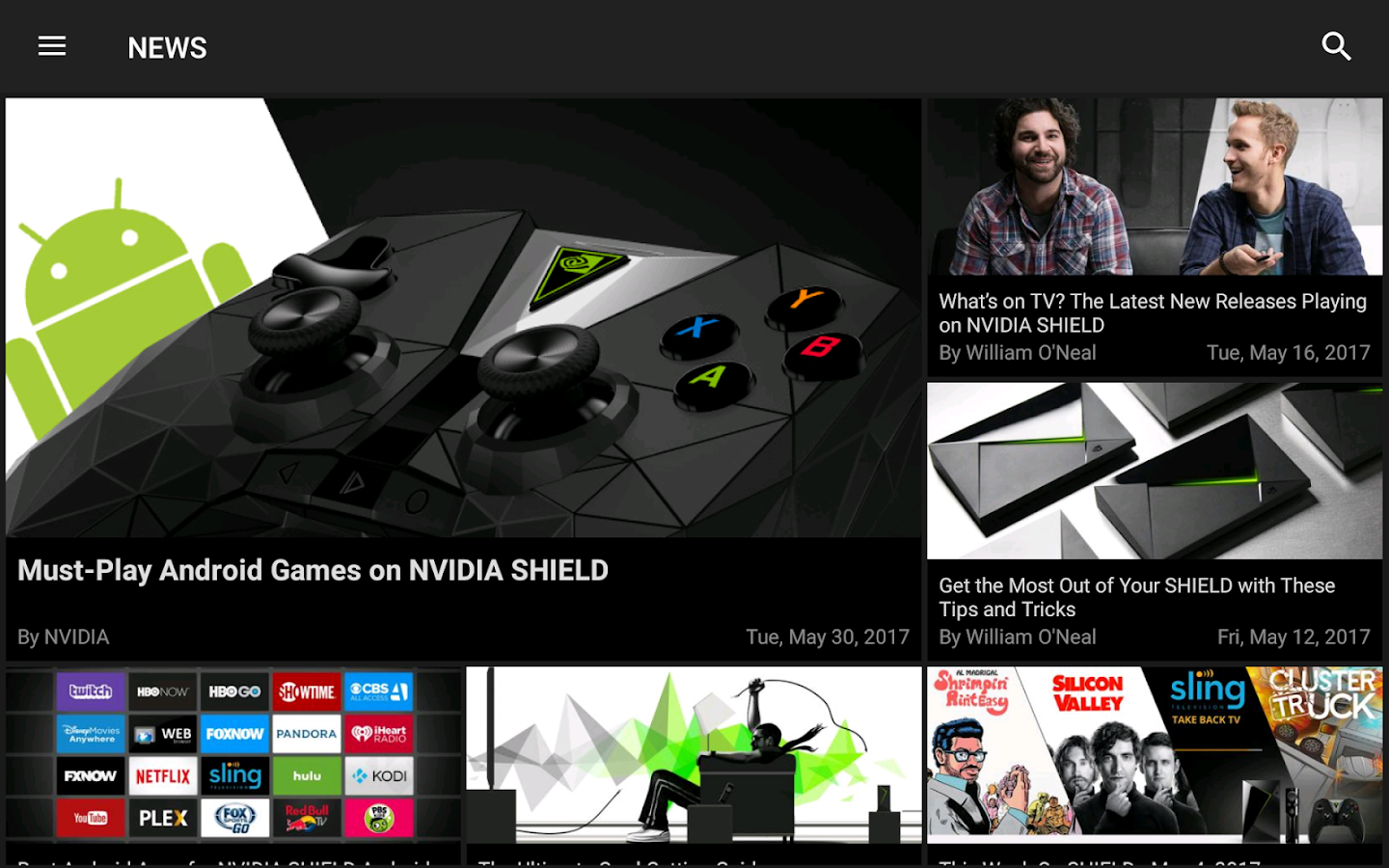 NVIDIA Games- screenshot