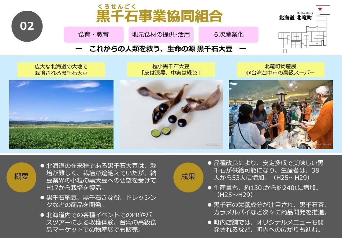 黒千石事業協同組合「これからの人類を救う、生命の源 黒千石大豆」
