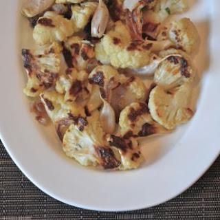 Roasted Cauliflower with Garlic and Shallots Recipe