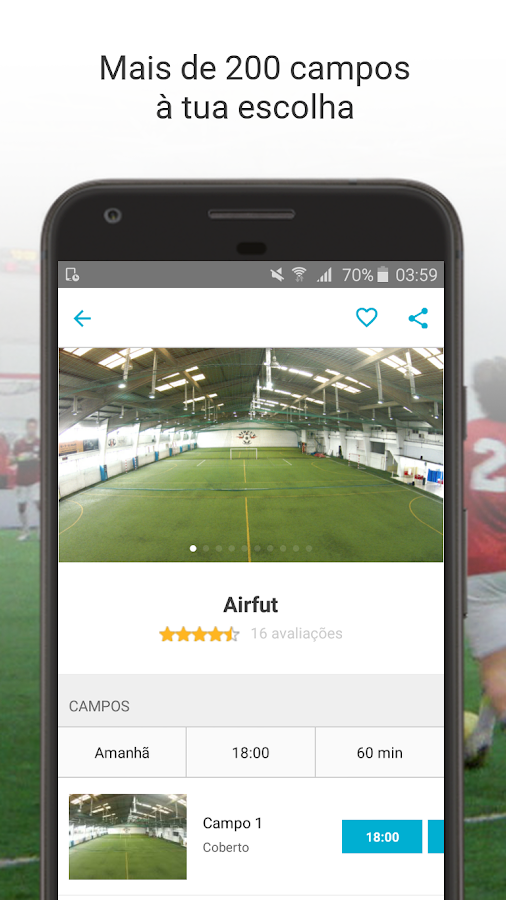 AirCourts- screenshot