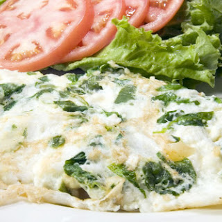 Feta & Spinach Egg Whites.