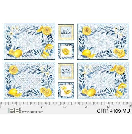 Panel med 4 st bordstabletter (16331)