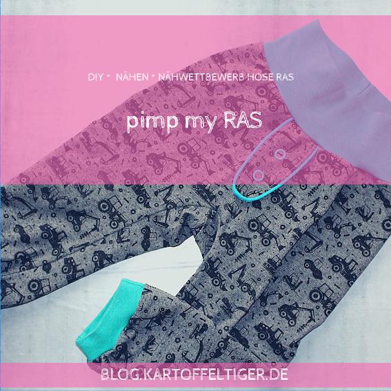 [nähen] pimp my RAS – Hosenschnitte einfach aufwerten