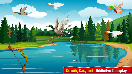 Real Duck Archery 2D Bird Hunting Shooting Game screenshots 7