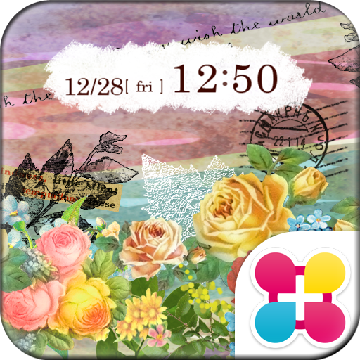 Pastel Flowers Wallpaper Theme Icon