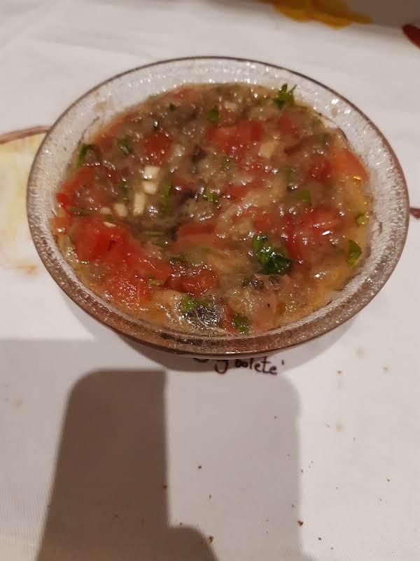 Greek Eggplant Dip/spread Melitzanosalata