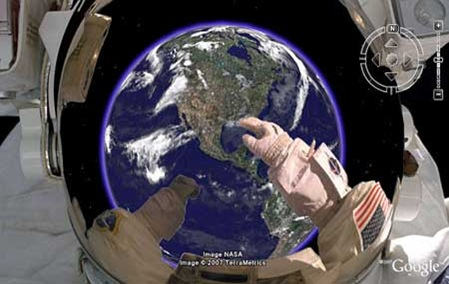 Google Earth astronauta