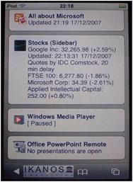 iPhone Sideshow