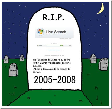 Muerte de Live Search