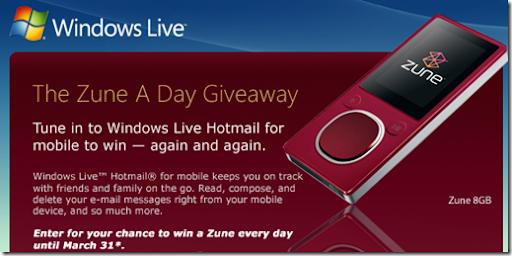 Win a Zune