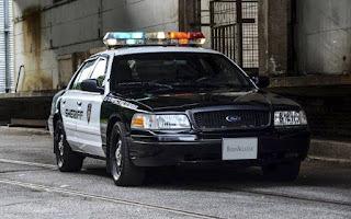 Ford Crown Victoria Police Interceptor Rent Deutschlandweit