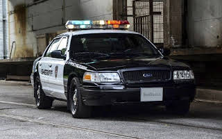 Ford Crown Victoria Police Interceptor Rent Deutschlandweit