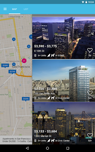 Zumper - Apartment Finder app (apk) free download for Android/PC/Windows screenshot
