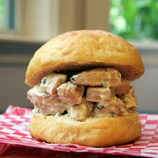 5 Ingredient Tarragon Lemon Chicken Salad Sandwiches