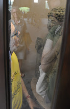 Photo: Felix Salmon hanging out in the Buddha Telephone Booth, William Stone of James Fuentes LLC