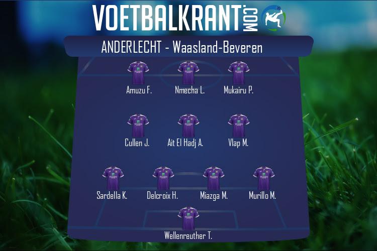 Anderlecht (Anderlecht - Waasland-Beveren)