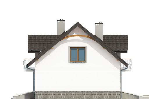 Dom Dla Ciebie 3 bez garażu B - Elewacja prawa