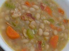 Homemade Bean & Bacon Soup Recipe