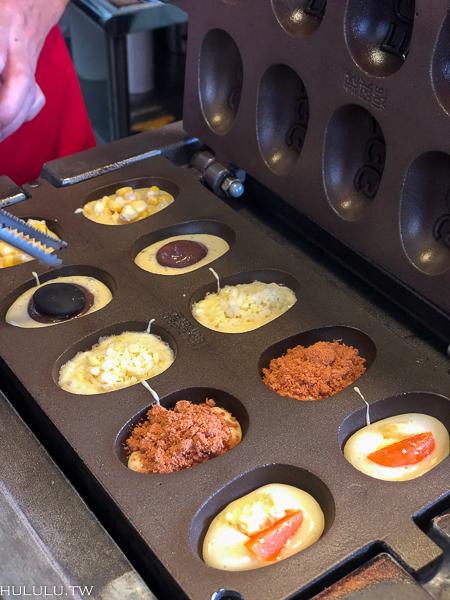 『小紅帽雞蛋糕』午后飄香銅板小點心,滿滿爆餡的好滋味。提供外送超方便。|勝利路|成功大學|