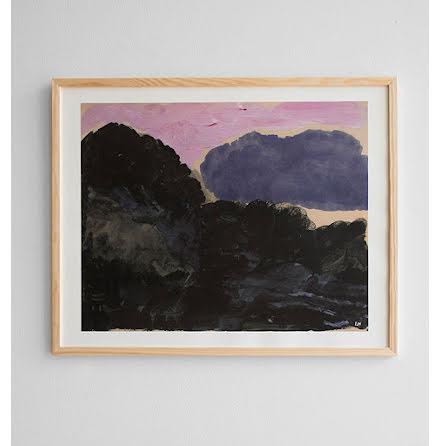 Cloud poster 40x50 cm
