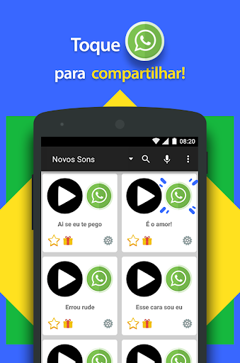 Sons Engrau00e7ados pra WhatsApp 1.15 screenshots 4