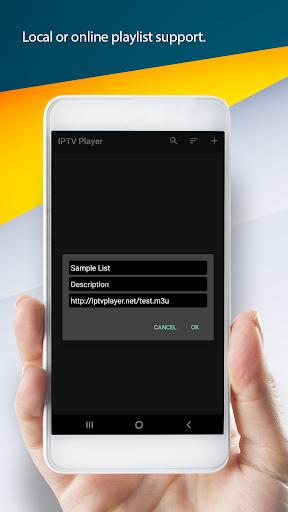 IPTV Player & Cast 2.2 screenshots 1