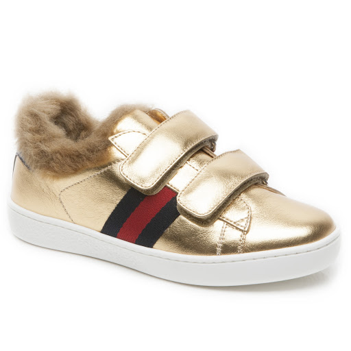 Primary image of Gucci Faux Fur Kid Trainer