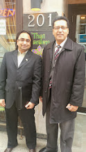 Photo: Husain (L) with MPDevinder Short  http://canadaindiaeducation.com/introduction/media-outreach